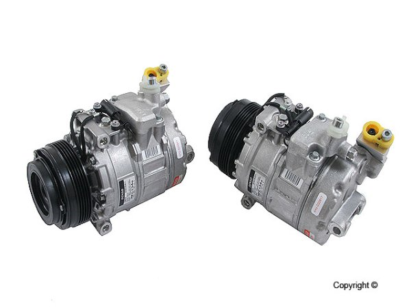 画像1: BMW (E38 E39 E52) / エアコンコンプレッサー (新品) / 64526910460 / DENSO (OEM) (1)