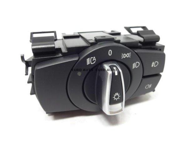 画像1: BMW (E82 E84 E88 E90 E91) / ヘッドライトスイッチ クロームメッキ / 61319169404 / BMW純正 (1)