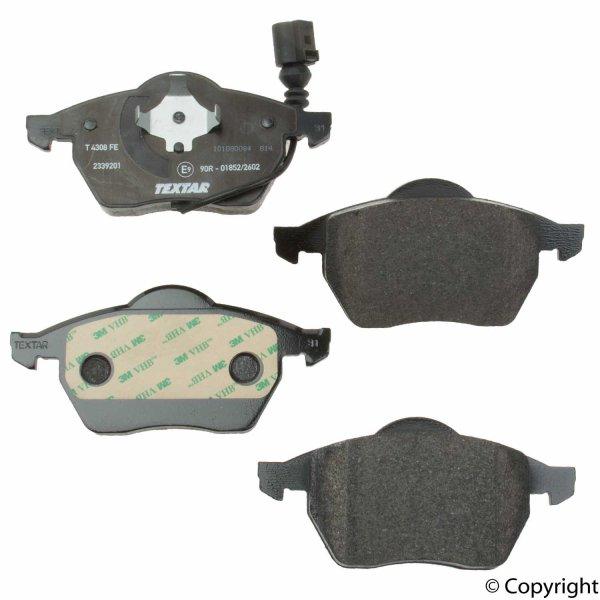 画像1: VAG (VW ゴルフ4 ボーラ ビートル・AUDI A3 S3 TT) / フロント ブレーキパッド セット (センサー付) / 1J0698151M・1J0698151K / TEXTAR (1)