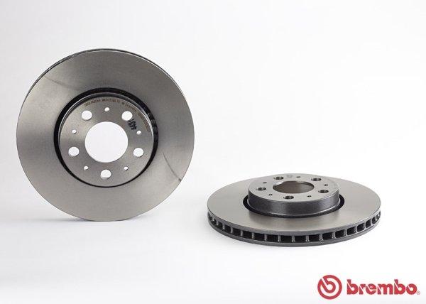 画像1: VOLVO (S60 S80 V70 XC70) / フロント ブレーキローター 2枚左右セット / 31400739 / Brembo (1)