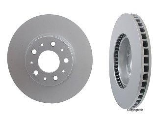 2 Meyle FRONT Rotors Disc Rotor OPparts Brake Pad Set Kit for Volvo 240 244 245