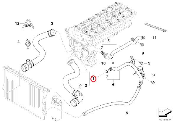 BMW E46 ラジエーターアッパーホース6気筒 17127510952: BMW E46 Wiring Diagram Pdf At Hrqsolutions.co